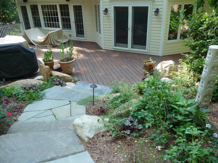 the country nursery backyard deck